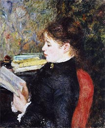 Renoir | The Reader, 1877 | Giclée Canvas Print