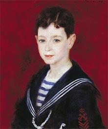 Renoir | Portrait of Fernand Halphen, 1880 | Giclée Canvas Print