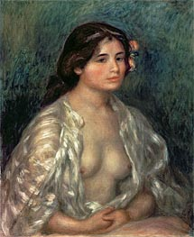 Renoir | Woman Semi-Nude, undated | Giclée Canvas Print