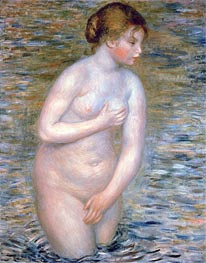 Renoir | Nude in the Water, 1888 | Giclée Canvas Print
