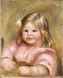 Renoir | Portrait de Coco, c.1903/04 | Giclée Canvas Print