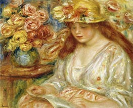 Renoir | The Reader, undated | Giclée Canvas Print