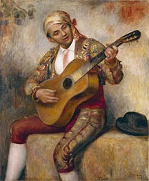 Renoir | The Spanish Guitarist, 1894 | Giclée Canvas Print