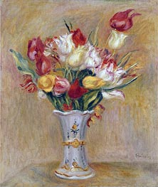 Renoir | Tulips, undated | Giclée Canvas Print
