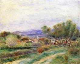 Renoir | View of La Seyne, Provence, c.1890 | Giclée Canvas Print