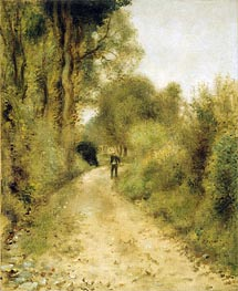 Renoir | On the Path, undated | Giclée Canvas Print