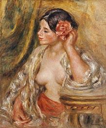 Renoir | Gabrielle a sa Coiffure, 1910 | Giclée Canvas Print