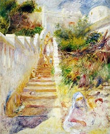 Renoir | The Steps, Algiers | Giclée Canvas Print