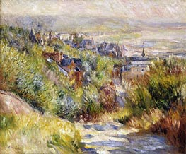 Renoir | The Heights of Trouville | Giclée Canvas Print