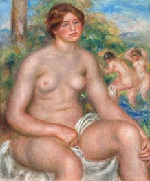 Renoir | Seated Bather | Giclée Canvas Print