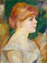 Suzanne Valadon, c.1885 by Renoir | Giclée Canvas Print