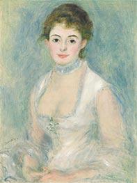 Madame Henriot, c.1876 by Renoir | Giclée Canvas Print