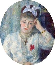 Marie Murer, 1877 by Renoir | Giclée Canvas Print