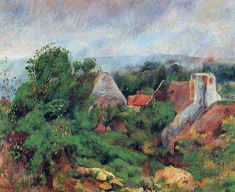 La Roche-Guyon, 1885 | Renoir | Painting Reproduction