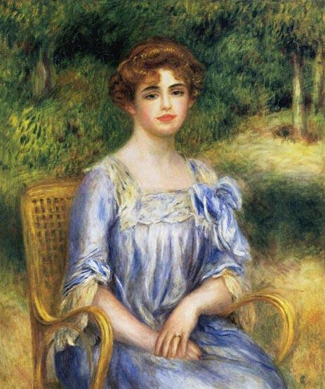 Madame Gaston Bernheim de Villers (Suzanne Adler), 1901 | Renoir | Painting Reproduction