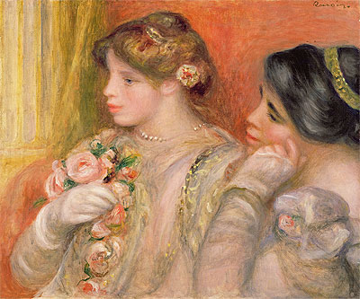 In the Lodge, c.1908 | Renoir | Painting Reproduction