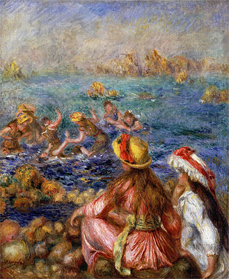 The Bathers, 1892 | Renoir | Painting Reproduction