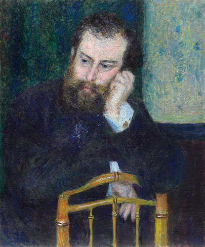 Alfred Sisley, 1876 | Renoir | Painting Reproduction