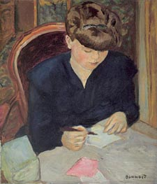 Pierre Bonnard | The Letter, c.1906 | Giclée Canvas Print
