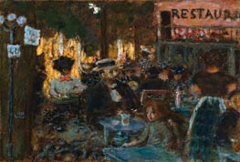 Pierre Bonnard | Cafe Terrace, 1898 | Giclée Canvas Print
