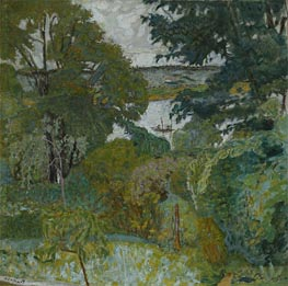 Pierre Bonnard | The Seine at Vernon, 1925 | Giclée Canvas Print