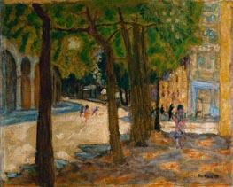 Pierre Bonnard | Boulevard Exelmans, Paris, 1925 | Giclée Canvas Print