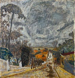 Pierre Bonnard | The Road to Nantes, 1929 | Giclée Canvas Print
