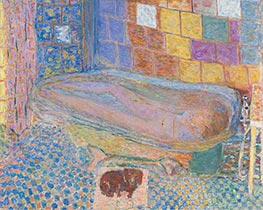 Nude in Bathtub, c.1940/46 by Pierre Bonnard | Giclée Canvas Print