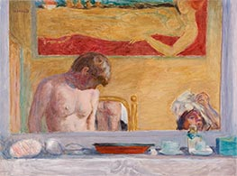 Young Woman at Her Toilette, 1916 by Pierre Bonnard   Giclée Canvas Print