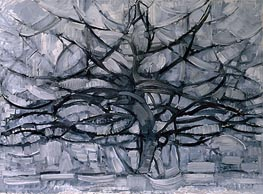 Mondrian | The Gray Tree, 1911 | Giclée Canvas Print