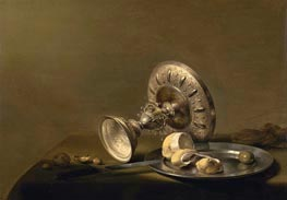 Pieter Claesz | Still Life with a Tazza, undated | Giclée Canvas Print