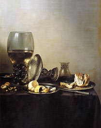 Still Life, 1637 by Pieter Claesz | Giclée Canvas Print