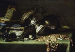 Pieter Claesz | Still Life with a Gold Chain, c.1636 | Giclée Canvas Print