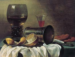 Pieter Claesz | Still Life with Rummer, c.1645/48 | Giclée Canvas Print