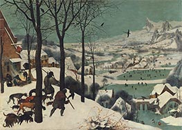 Bruegel the Elder | The Hunters in the Snow (Winter), 1565 | Giclée Canvas Print