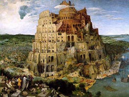 Bruegel the Elder | The Tower of Babel | Giclée Canvas Print