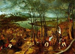 Bruegel the Elder | The Gloomy Day, 1565 | Giclée Canvas Print