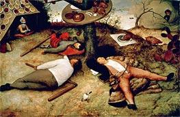 Bruegel the Elder | The Land of Cockaigne, 1567 | Giclée Canvas Print