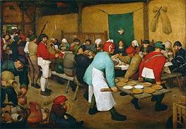 Bruegel the Elder | Peasant Wedding, c.1568 | Giclée Canvas Print