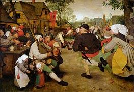 Bruegel the Elder | The Peasant Dance, 1568 | Giclée Canvas Print