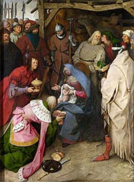 Bruegel the Elder | The Adoration of the Kings, 1564 | Giclée Canvas Print