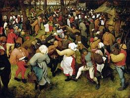 Bruegel the Elder | The Wedding Dance, c.1566 | Giclée Canvas Print
