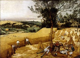 Bruegel the Elder | The Harvesters, 1565 | Giclée Canvas Print