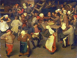 Bruegel the Elder | Wedding Dance, c.1567/69 | Giclée Canvas Print