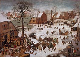 Bruegel the Elder | The Census at Bethlehem, undated | Giclée Canvas Print