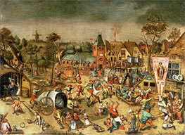Bruegel the Elder | The Kermesse of the Feast of St. George, undated | Giclée Canvas Print