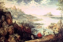 Bruegel the Elder | Landscape with the Flight into Egypt, 1563 | Giclée Canvas Print