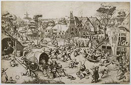 Bruegel the Elder | The Fair on St. George's Day | Giclée Paper Print