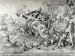 Bruegel the Elder | The Temptation of Saint Anthony, 1556 | Giclée Paper Print