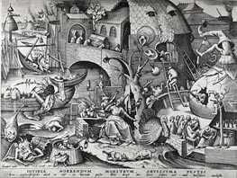 Bruegel the Elder | Envy, from The Seven Deadly Sins, 1558 | Giclée Paper Print